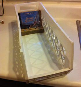 Adjustable Insert For Plastic Bin