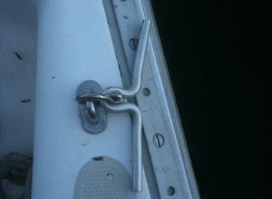 Capri 25 Sailboat Aluminum Cleat 1