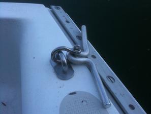 Capri 25 Sailboat Aluminum Cleat