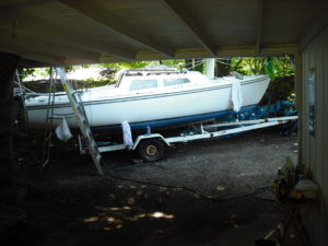 Catalina 22 On Trailer