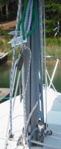 Catalina 22 Pop Top Lift Rig 2