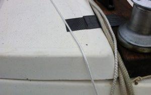 Catalina 22 Rope Stop Flap