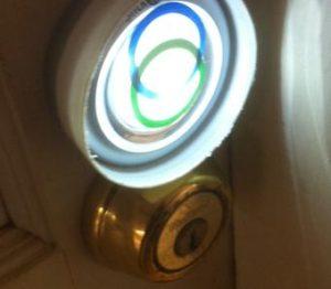 Click Light By Door Lock