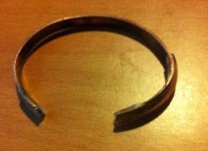 Copper Bracelet Scratch Protector