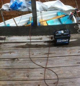Electric 12 v Bilge Pump on a Stick 3