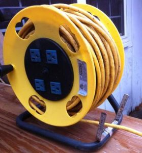 Electrical Cord Reel Cord Guide