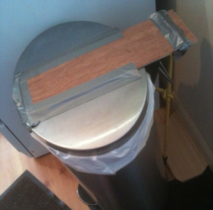 Garbage Can Lid Counterbalance 2