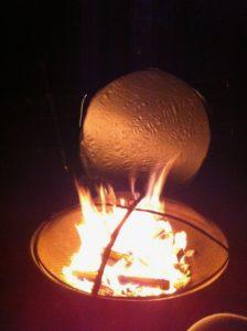 Idea .031200 Fire Pit Reflector