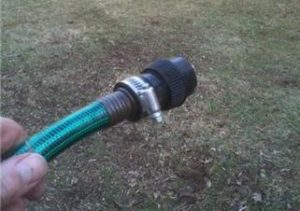 Pressure Washer Hose Connection