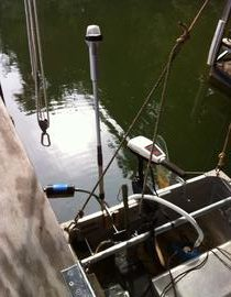 Rowboat Aft Running Light Mount 1