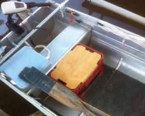 Rowboat Storage Bench Seat