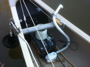 Sailing Canoe Bilge Pump