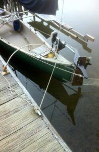 Sailing Canoe Mooring Line Whip 1