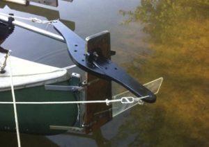 Sailing Canoe Rudder 3