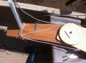 Sailing Canoe Rudder
