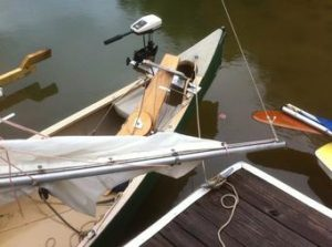 Sailing Canoe Topping Lift