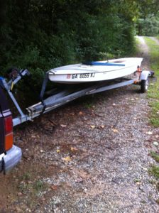 Sunfish Number 4 Just Purchased