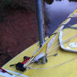 Sunfish Rig for Using a Smaller Sail 2