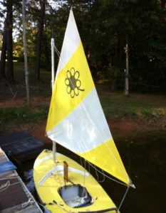Sunfish Rig for Using a Smaller Sail 6