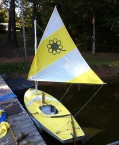 Sunfish Rig for Using a Smaller Sail 7