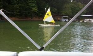 Sunfish With Smaller Sail Rig 2