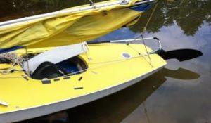 Sunfish with Walker Bay 8 Daggerboard