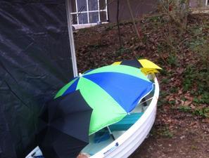 Umbrella Boat Cover Support