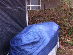 Umbrella Boat Cover Support 1