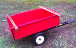 Yard Trailer Cross Bars – Detachable