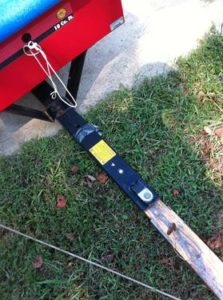 Yard Trailer Dump Lever Rope Magnetic Holder