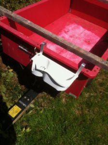 Idea .030208 Yard Trailer Attachable Carry Box