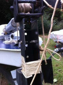 Idea .202400 Trailer Winch Stant Top Fitting