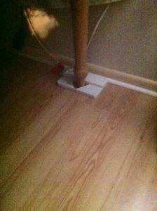 Idea .202900 Table Leg Wall Spacer