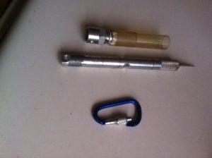 Idea .204800 Art Knife Shield Lock 7