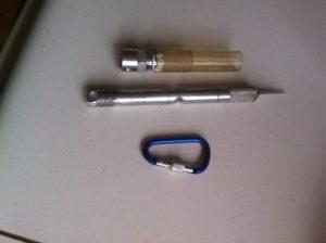 Idea .204800 Art Knife Shield Lock 8