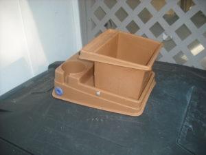 Idea Automobile Trash Container Retaining Screws