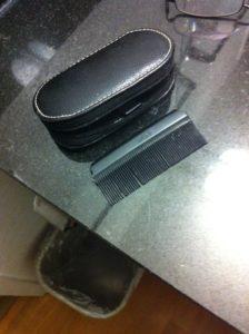 Idea Small Comb In Clipper Case